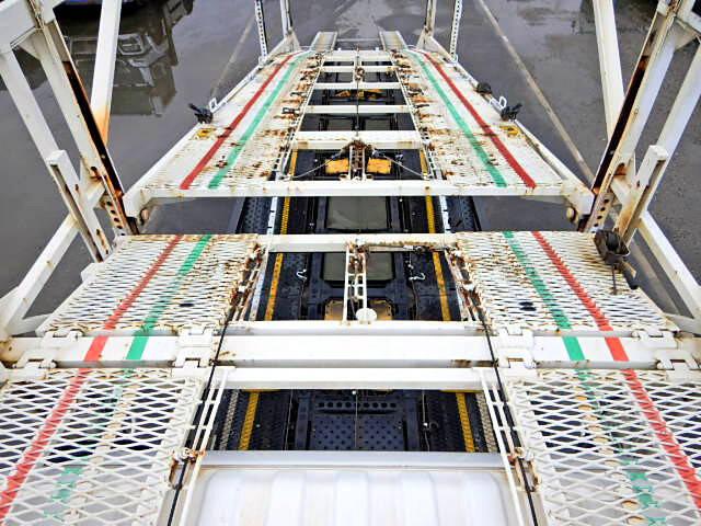 日野 レンジャー 中型 車輌重機運搬 エアサス ベッド|画像5