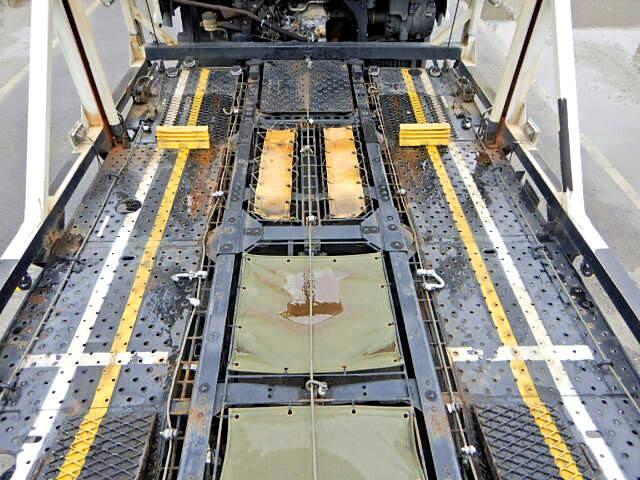 日野 レンジャー 中型 車輌重機運搬 エアサス ベッド|画像7