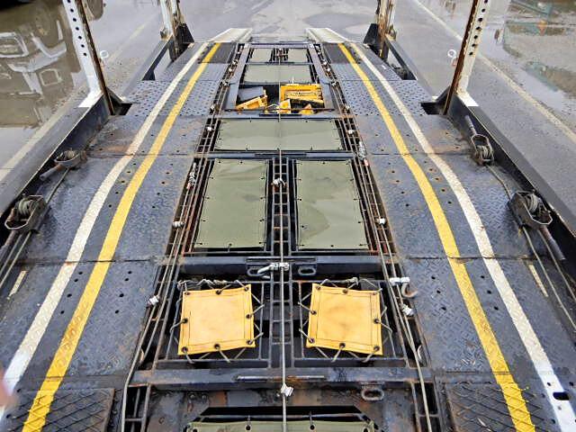 日野 レンジャー 中型 車輌重機運搬 エアサス ベッド|画像8