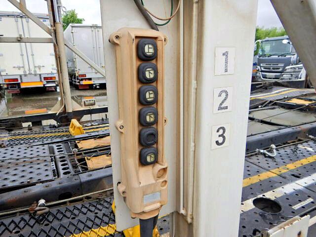 日野 レンジャー 中型 車輌重機運搬 エアサス ベッド|画像15
