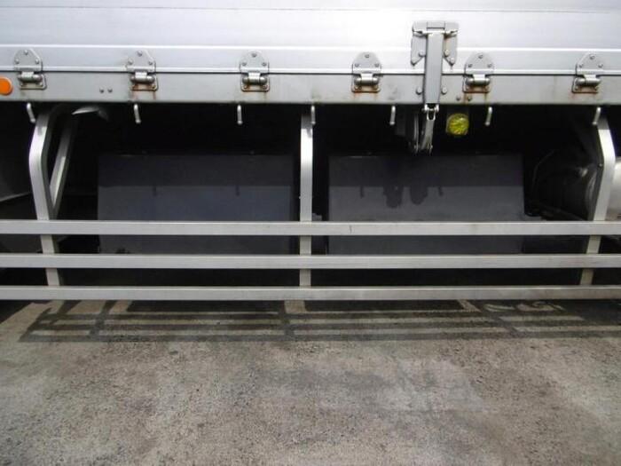 いすゞ ギガ 大型 平ボディ アルミブロック ベッド|画像11