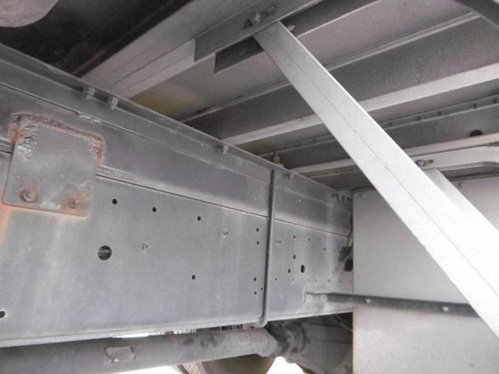 いすゞ ギガ 大型 平ボディ アルミブロック ベッド|画像12