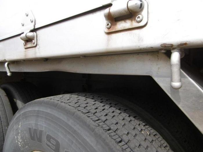 いすゞ ギガ 大型 平ボディ アルミブロック ベッド|画像16