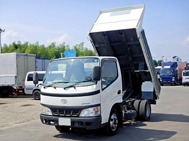 トヨタ ダイナ 小型 ダンプ コボレーン PB-XZU351D|トラック 左前画像 トラックバンク掲載