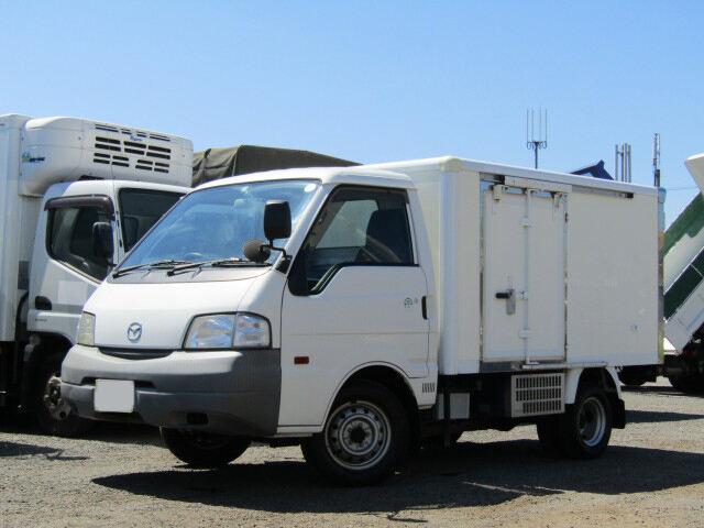 マツダ ボンゴ 小型 冷凍冷蔵 サイドドア ABF-SK82T|トラック 左前画像 トラックバンク掲載