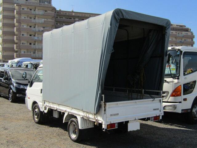 マツダ ボンゴ 小型 平ボディ 幌 TC-SK82T|トラック 右後画像 リトラス掲載