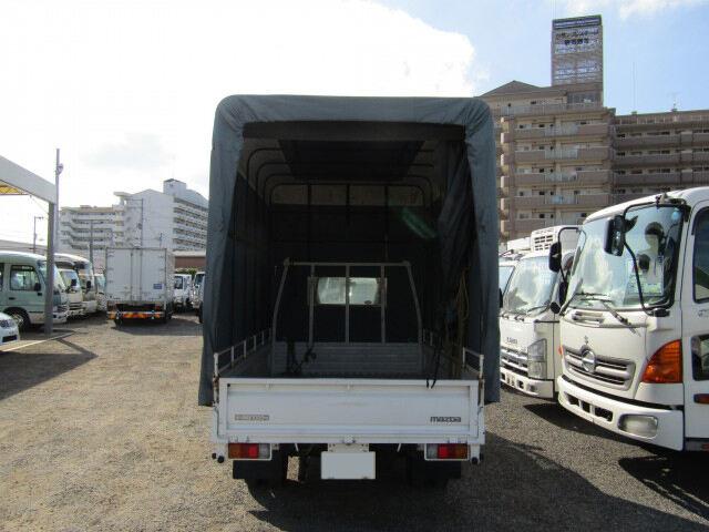 マツダ ボンゴ 小型 平ボディ 幌 TC-SK82T|トラック 背面・荷台画像 トラック市掲載