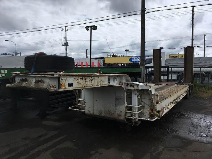 国内・その他 国産車その他 その他 トレーラ 8輪 ND1501|トラック 左前画像 トラックバンク掲載