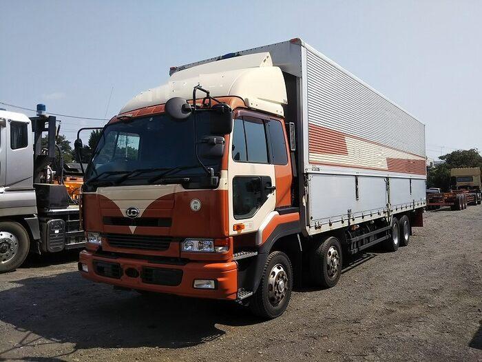 日産UD ビッグサム 大型 ウイング エアサス ベッド|トラック 左前画像 トラックバンク掲載