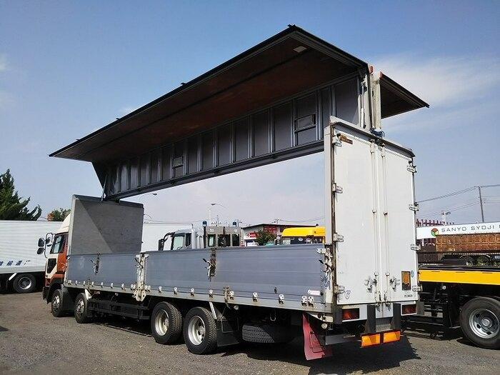 日産UD ビッグサム 大型 ウイング エアサス ベッド|トラック 背面・荷台画像 トラック市掲載