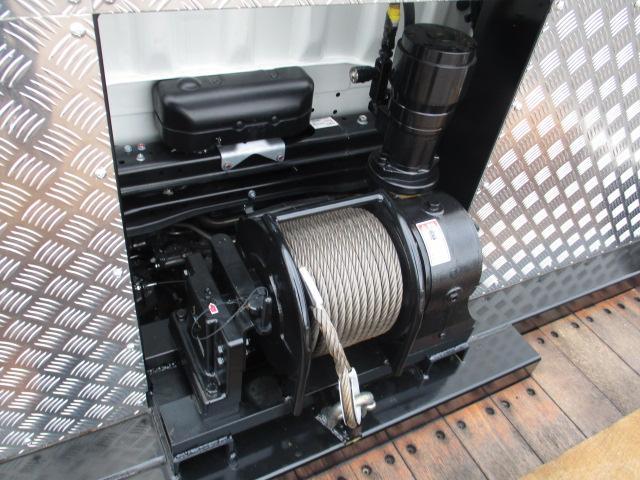 三菱 ファイター 中型 車輌重機運搬 ウインチ ベッド|リサイクル券  トラック 画像 トラック市掲載