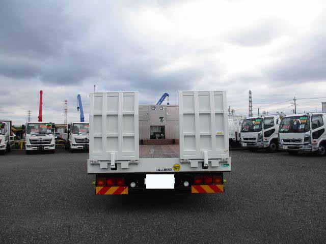 三菱 ファイター 中型 車輌重機運搬 ウインチ ベッド|積載 10.3t トラック 画像 ステアリンク掲載