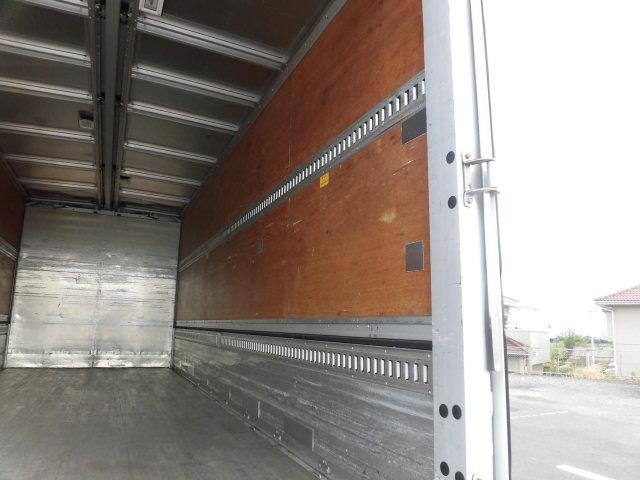 三菱 ファイター 中型 ウイング パワーゲート ベッド 荷台 床の状態 トラック 画像 トラックサミット掲載