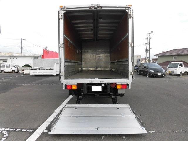 三菱 ファイター 中型 ウイング パワーゲート ベッド 走行距離 28.9万km トラック 画像 トラックランド掲載