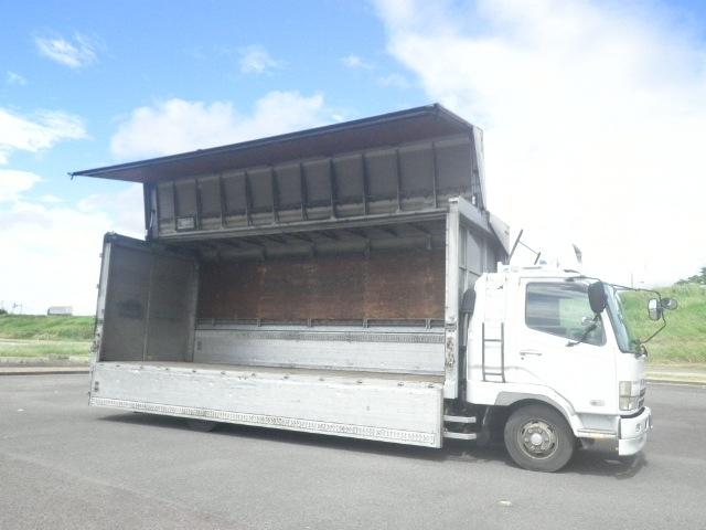 三菱 ファイター 中型 ウイング ベッド KK-FK61HL|型式 KK-FK61HL トラック 画像 栗山自動車掲載