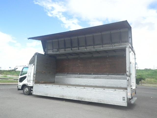 三菱 ファイター 中型 ウイング ベッド KK-FK61HL|走行距離 99.2万km トラック 画像 トラックランド掲載