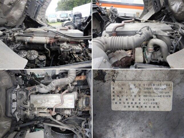 日野 プロフィア 大型 車輌重機運搬 ウインチ ベッド|シフト MT7 トラック 画像 ステアリンク掲載