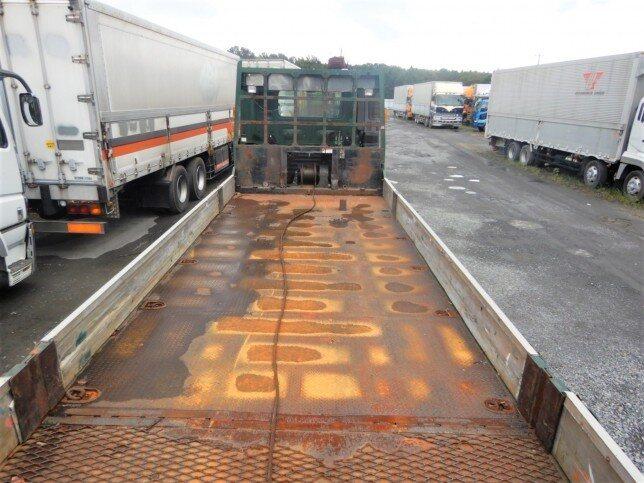 日野 プロフィア 大型 車輌重機運搬 ウインチ ベッド|トラック 背面・荷台画像 トラック市掲載