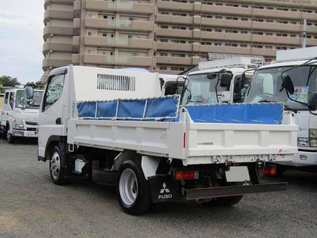 三菱 キャンター 小型 ダンプ コボレーン TPG-FBA30 トラック 右後画像 リトラス掲載