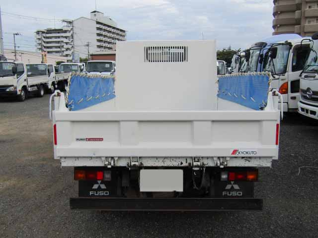 三菱 キャンター 小型 ダンプ コボレーン TPG-FBA30 トラック 背面・荷台画像 トラック市掲載