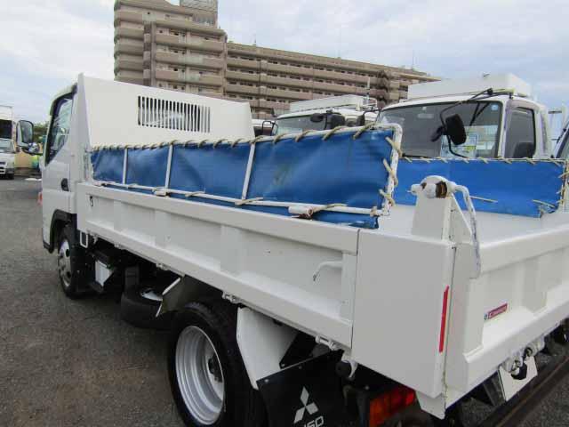 三菱 キャンター 小型 ダンプ コボレーン TPG-FBA30 エンジン トラック 画像 トラスキー掲載