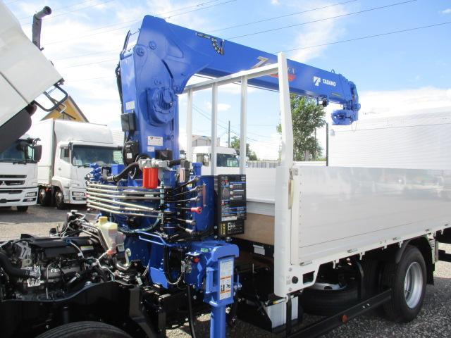 三菱 キャンター 小型 クレーン付 パワーゲート アルミブロック|シフト MT5 トラック 画像 ステアリンク掲載