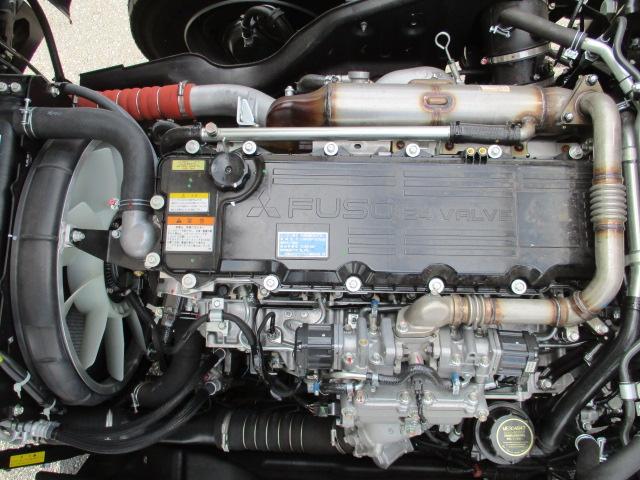 三菱 ファイター 中型 車輌重機運搬 ウインチ ベッド エンジン トラック 画像 トラスキー掲載