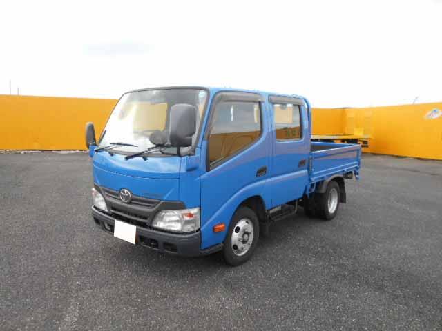 トヨタ トヨエース 小型 平ボディ Wキャブ TKG-XZU605 トラック 左前画像 トラックバンク掲載