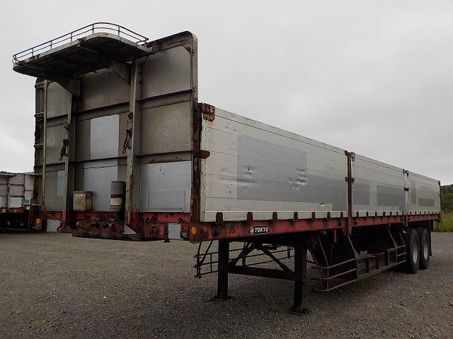 国内・その他 国産車その他 その他 トレーラ 2軸 TF1591|トラック 左前画像 トラックバンク掲載
