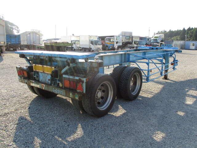 国内・その他 国産車その他 その他 トレーラ 2軸 HCD240|トラック 右後画像 リトラス掲載