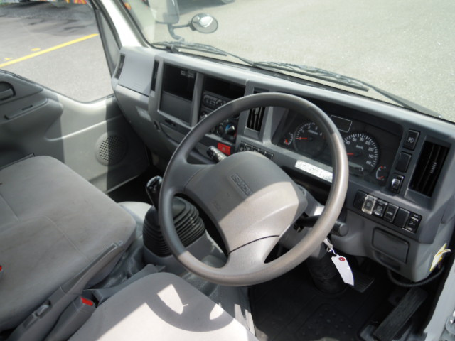いすゞ エルフ 小型 平ボディ パワーゲート TRG-NJR85A|シフト MT5 トラック 画像 ステアリンク掲載