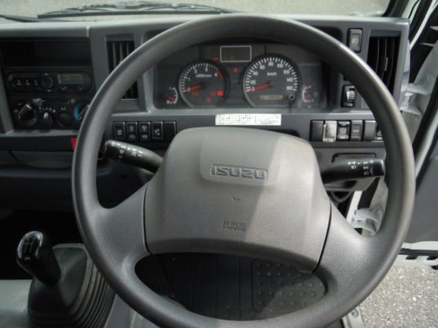 いすゞ エルフ 小型 平ボディ パワーゲート TRG-NJR85A|架装 新明和 トラック 画像 トラックバンク掲載