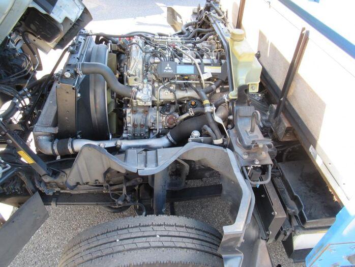 三菱 キャンター 小型 平ボディ パワーゲート SKG-FEB50|車検  トラック 画像 キントラ掲載
