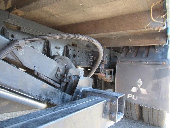三菱 キャンター 小型 平ボディ パワーゲート SKG-FEB50|シフト AT トラック 画像 ステアリンク掲載