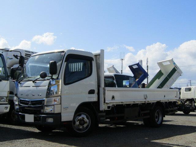 三菱 キャンター 小型 平ボディ TPG-FEA50 H28|トラック 左前画像 トラックバンク掲載