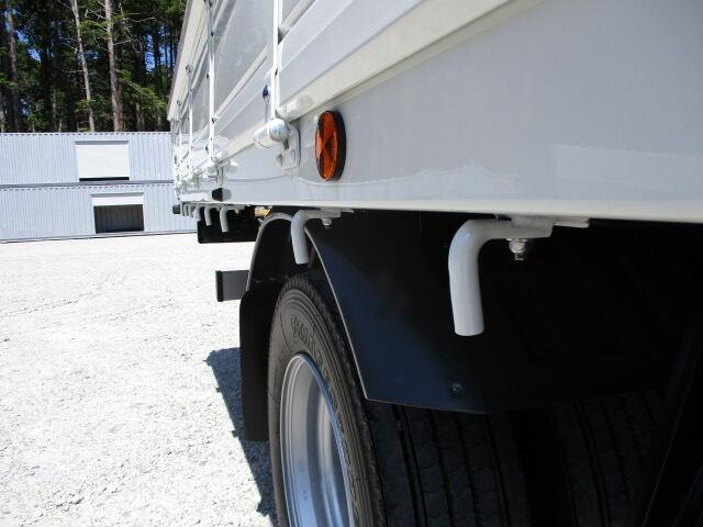 三菱 ファイター 中型 クレーン付 5段 ラジコン|シフト MT6 トラック 画像 ステアリンク掲載