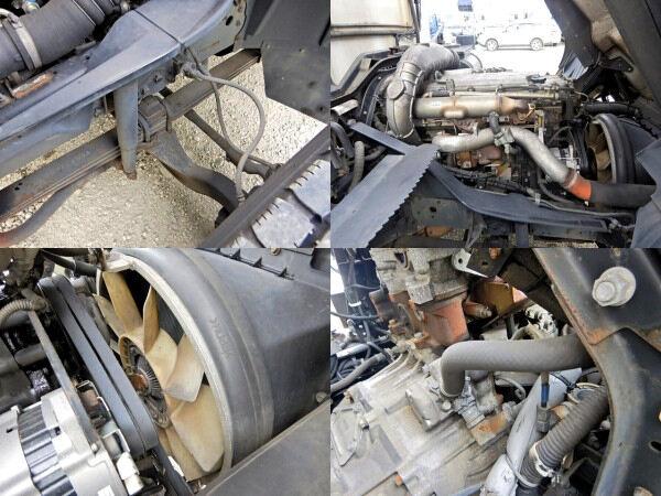 三菱 ファイター 中型 冷凍冷蔵 中温 パワーゲート|エンジン トラック 画像 トラスキー掲載
