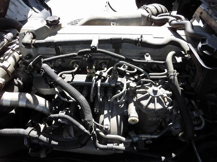 日野 レンジャー 中型 ウイング ベッド BDG-FD8JLWA|エンジン トラック 画像 トラスキー掲載