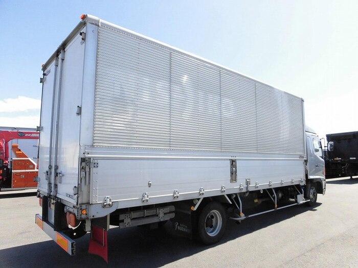 日野 レンジャー 中型 ウイング ベッド BDG-FD8JLWA|トラック 右後画像 リトラス掲載