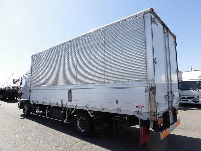 日野 レンジャー 中型 ウイング ベッド BDG-FD8JLWA|フロントガラス トラック 画像 トラック王国掲載