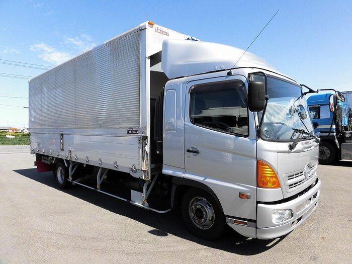 日野 レンジャー 中型 ウイング ベッド BDG-FD8JLWA|走行距離 59.7万km トラック 画像 トラックランド掲載