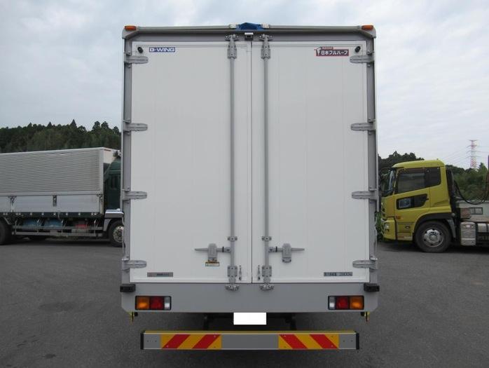 三菱 ファイター 中型 ウイング エアサス ベッド|シフト  トラック 画像 ステアリンク掲載