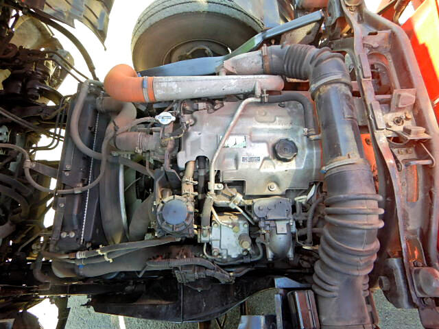 三菱 ファイター 中型 クレーン付 4段 フックイン|架装  トラック 画像 トラックバンク掲載