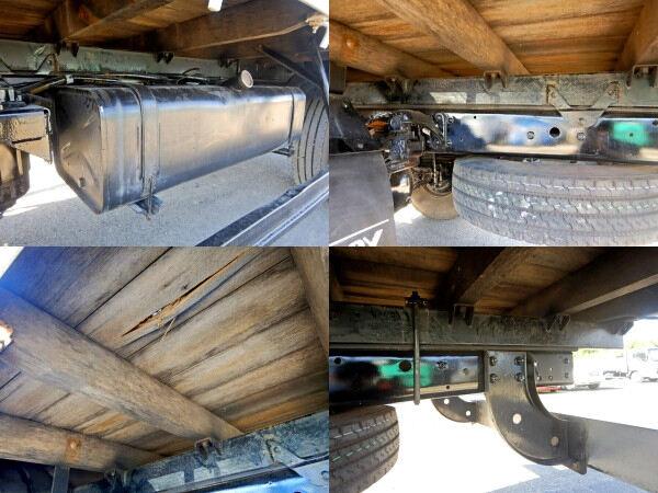 三菱 ファイター 中型 クレーン付 4段 フックイン|シャーシ トラック 画像 キントラ掲載