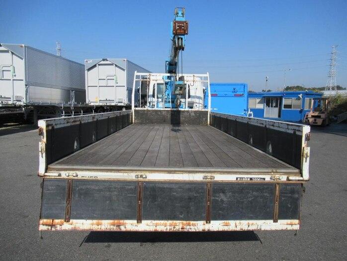 三菱 ファイター 中型 クレーン付 5段 ラジコン|トラック 背面・荷台画像 トラック市掲載