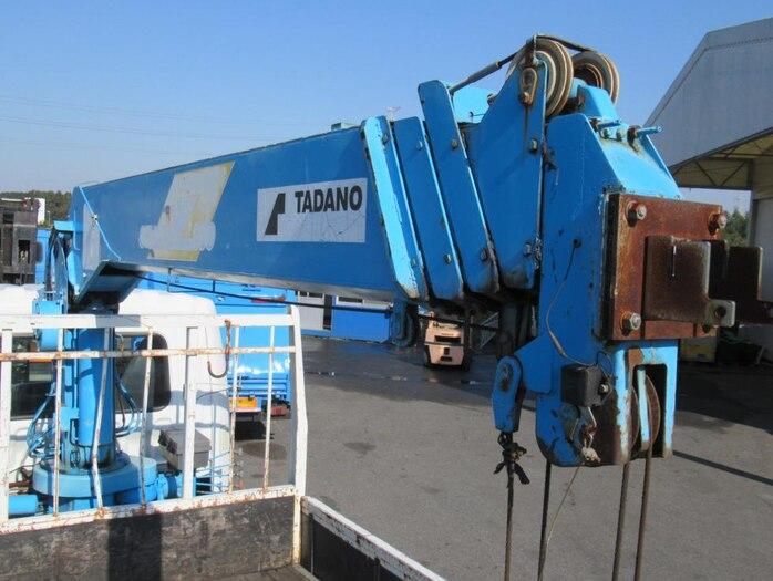 三菱 ファイター 中型 クレーン付 5段 ラジコン|駆動方式 4x2 トラック 画像 リトラス掲載
