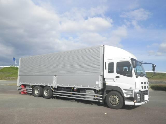 いすゞ ギガ 大型 冷凍冷蔵 冷凍ウイング 低温|トラック 背面・荷台画像 トラック市掲載
