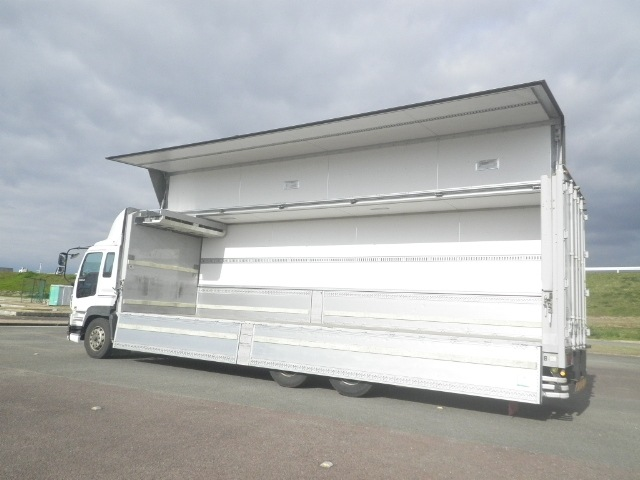 いすゞ ギガ 大型 冷凍冷蔵 冷凍ウイング 低温|型式 QKG-CYL77A トラック 画像 栗山自動車掲載