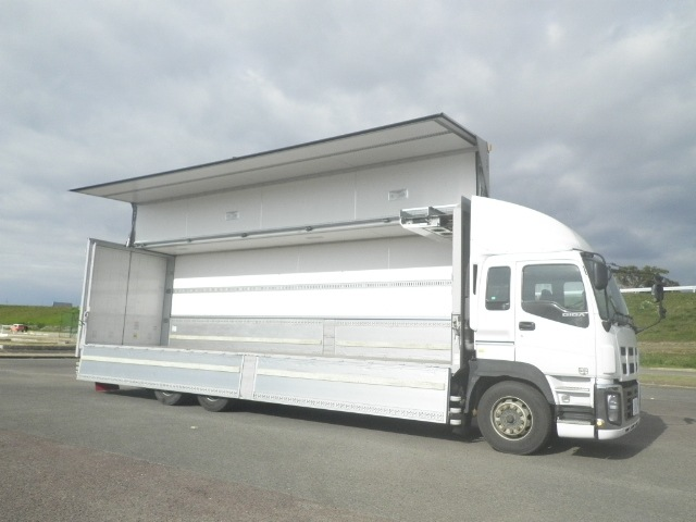 いすゞ ギガ 大型 冷凍冷蔵 冷凍ウイング 低温|荷台 床の状態 トラック 画像 トラックサミット掲載