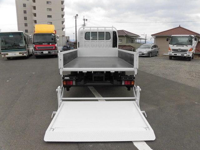 いすゞ エルフ 小型 平ボディ Wキャブ パワーゲート|画像8